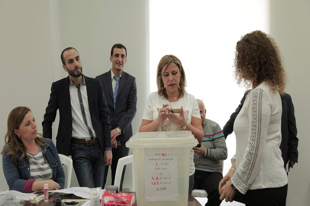 Enhancing the Capacity of Electoral Officials in Lebanon